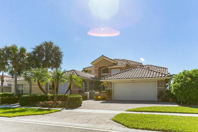 Boynton Beach Single Family Home For Sale: 6679 Jog Palm Drive