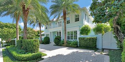 Palm Beach FL Single Family Home For Sale: $7,495,000