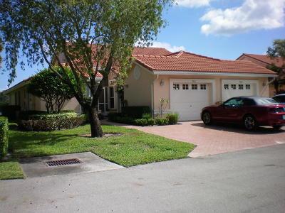 Boynton Beach Single Family Home For Sale: 7820 Majestic Palm Drive