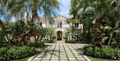 Palm Beach FL Single Family Home For Sale: $10,000,000