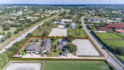 Palm Beach County Rental For Rent: 14343 Equestrian Way