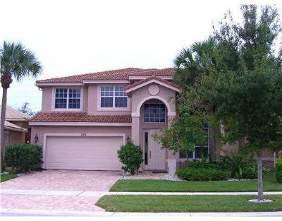 Boynton Beach Rental For Rent: 12109 Colony Preserve Drive