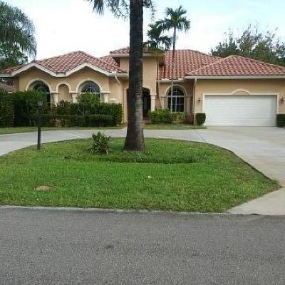 Port Saint Lucie Single Family Home For Sale: 5865 NW Hann Drive