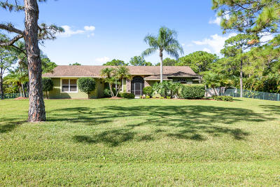 West Palm Beach Single Family Home For Sale: 15867 73rd Terrace