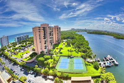 Boca Towers Condo For Sale: 2121 Ocean Boulevard #1705w
