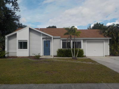 Jupiter Single Family Home For Sale: 18147 Jupiter Landings Drive