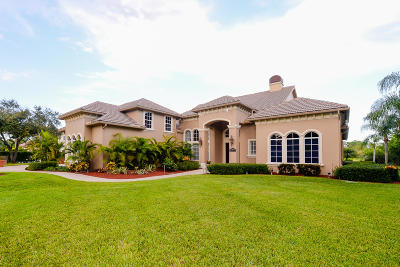 Port Saint Lucie Single Family Home For Sale: 7965 Saddlebrook Drive