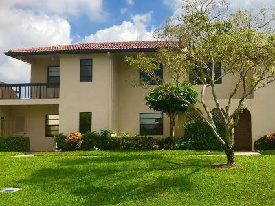 Boca Raton Townhouse For Sale: 21386 Juego Circle #10f