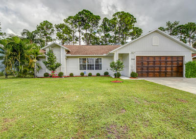 Port Saint Lucie Single Family Home For Sale: 2943 SW Collings Drive