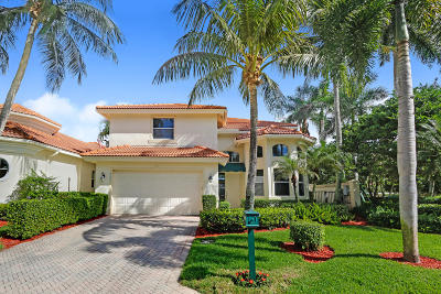 West Palm Beach Single Family Home For Sale: 8480 Legend Club Drive
