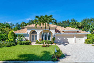 Boynton Beach Single Family Home For Sale: 9671 Aloe Road