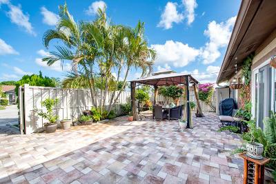 Boca Raton Single Family Home For Sale: 9806 Boca Gardens Trail #B
