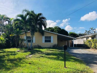 Jupiter Single Family Home Contingent: 908 Cheyenne Street