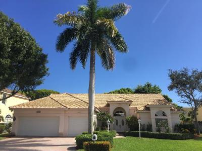Palm Beach Gardens Single Family Home For Sale: 10291 Allamanda Boulevard