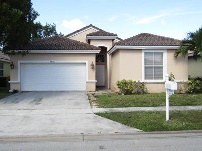 Boynton Beach Single Family Home For Auction: 9493 Verona Lakes Boulevard