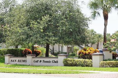 San Remo, San Remo Cond, San Remo Cond Decl In, San Remo Condo, San Remo Golf & Tennis Club, San Remo Golf & Tennis Club Cond, San Remo Golf & Tennis Club Condo Condo Contingent: 5150 E Club Circle #101