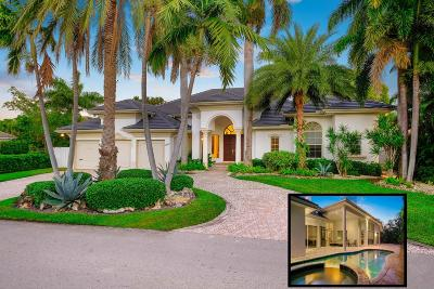 Mizner Court, Mizner Court Cond I, Royal Palm Yacht & Cc, Royal Palm Yacht & Country Club, Royal Palm Yacht And Country Club, Royal Palm Yacht And Country Club Sub In Pb 26 Pgs, Royal Palm Yacht And Country Club Subdivision Single Family Home For Sale: 2266 W Maya Palm Drive