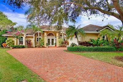 Jupiter Single Family Home Contingent: 5912 River Isle Road