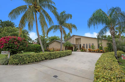 West Palm Beach Single Family Home Contingent: 8421 Wilton Drive