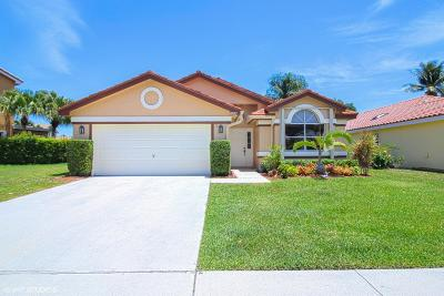 Boynton Beach Single Family Home For Sale: 8587 Tourmaline Boulevard