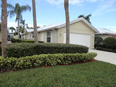 Palm City Single Family Home For Sale: 1824 SW Waterfall Boulevard