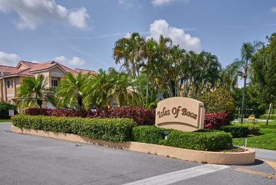 Boca Raton Townhouse Contingent: 23109 Aqua View Drive #4