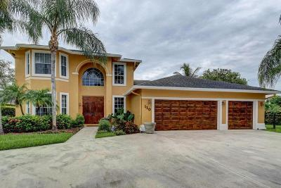 Royal Palm Beach Single Family Home For Sale: 110 Locust Lane