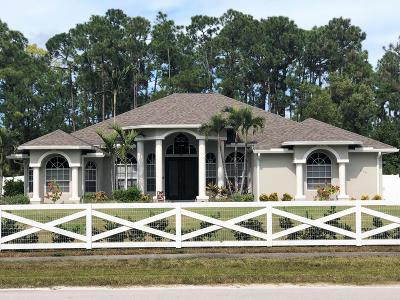 Acerage, Acreage, Acreage & Unrec, Acreage& Unrec, Acreage&unrec, Acreage, Loxahatchee, Acreage/Royal Ascott, Areage, Loxahatchee, Loxahatchee/Acreage, Royal Ascot Estates, Royal Palm Beach Acreage, The Acreage, The Acreage/Loxaha, Acarage Single Family Home For Sale: 13047 Temple Boulevard