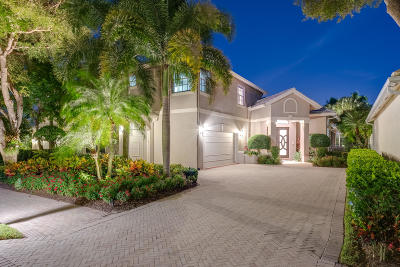 Palm Beach Gardens Single Family Home For Sale: 127 Victoria Bay Court