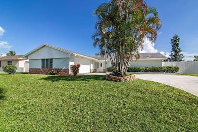 Palm Beach Gardens Single Family Home For Sale: 9702 Bluebell Street