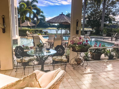 West Palm Beach Single Family Home For Sale: 8196 Lakeview Drive