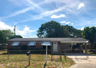 West Palm Beach Single Family Home Contingent: 2042 Whitney Road