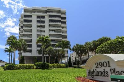 Highland Beach Rental For Rent: 2901 S Ocean Boulevard #403