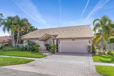 Boca Raton Single Family Home For Sale: 23352 Lago Mar Circle