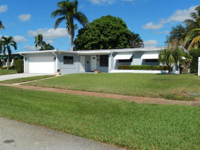 North Palm Beach Single Family Home Contingent: 733 Flamingo Way