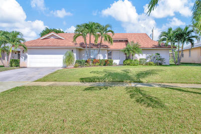 Tequesta Single Family Home For Sale: 88 Pine Hill Trail E