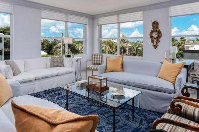 Palm Beach Condo For Sale: 340 S Ocean Boulevard #3e