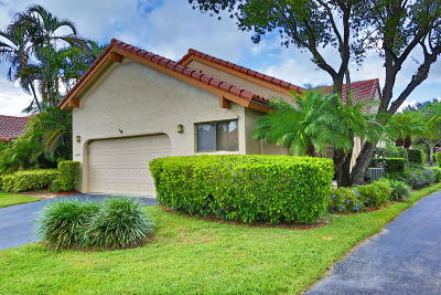 Boca Raton Townhouse For Sale: 23423 Water Circle