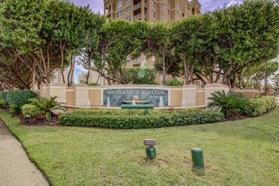 Highland Beach Condo For Sale: 3606 S Ocean Boulevard #707