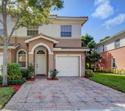 Delray Beach Townhouse For Sale: 4416 Regal Court