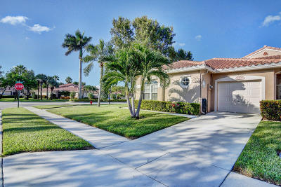 Boynton Beach Single Family Home For Sale: 6209 Key Largo Lane