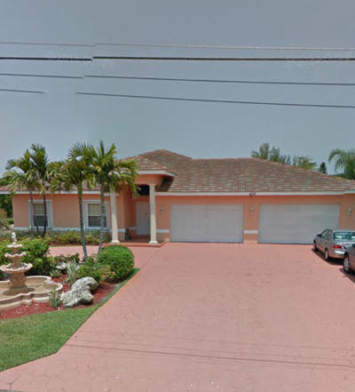 Coconut Creek Single Family Home For Sale: 4770 NW 74th Place