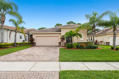 Palm Beach Gardens Single Family Home For Sale: 9646 Osprey Isles Boulevard