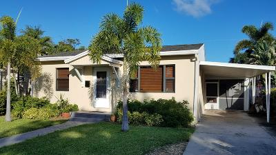 Lake Worth Single Family Home For Sale: 1110 L Street