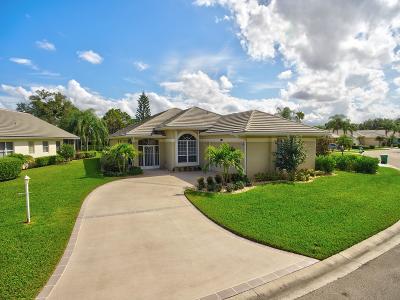Port Saint Lucie Single Family Home For Sale: 7324 Marsh Terrace