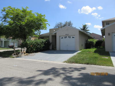Coconut Creek Single Family Home For Sale: 3712 NW 23rd Manor