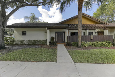 Coconut Creek Single Family Home For Sale: 4549 Carambola Circle S #27254