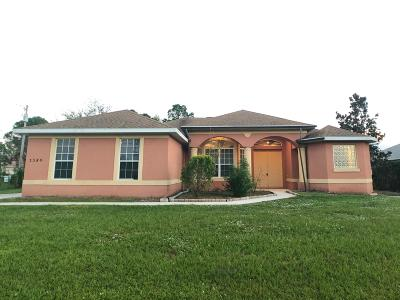 Port Saint Lucie Single Family Home For Sale: 5380 NW Dell Court