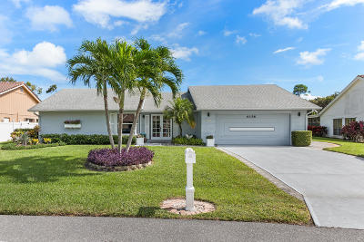 Palm Beach Gardens Single Family Home For Sale: 6156 Celadon Circle