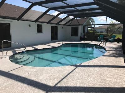 Port Saint Lucie Single Family Home For Sale: 2002 SE Pyramid Road